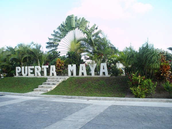 Peurta Maya is about 4 km from Down town Cozume and is the main dock for Carnivals cruise ship docking port of call for Cozumel.